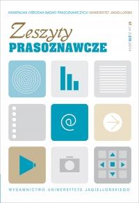 Zeszyty Prasoznawcze, 2014/9, Tom 57, Numer 2 (218)