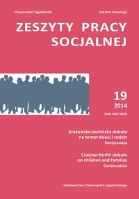 Zeszyty Pracy Socjalnej, 2014/2, Tom 19, Numer 1