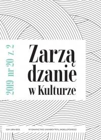Zarządzanie w Kulturze, 2019/6, Tom 20, Numer 2
