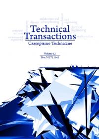 Czasopismo Techniczne, 2017/12, Volume 12