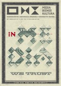 Media Biznes Kultura, 2018/6, Numer 1 (4) 2018