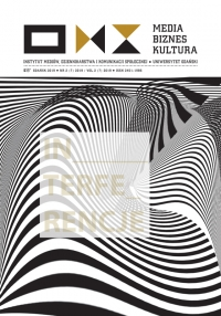 Media Biznes Kultura, 2019/12, Numer 2 (7) 2019