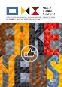 Media Biznes Kultura, 2020/7, Numer 1 (8) 2020