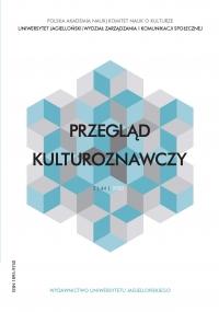 Przegląd Kulturoznawczy, 2020/6, Numer 2 (44)