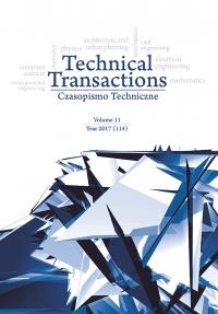 Czasopismo Techniczne, 2017/11, Volume 11
