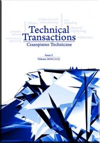 Czasopismo Techniczne, 2018/2, Volume 2