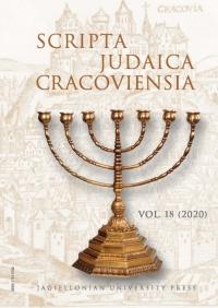 Scripta Judaica Cracoviensia, 2020/12, Volume 18