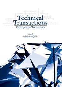 Czasopismo Techniczne, 2019/3, Volume 3