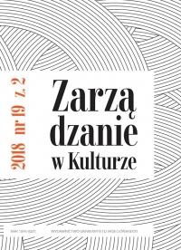 Zarządzanie w Kulturze, 2018/7, Tom 19, Numer 2