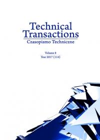 Czasopismo Techniczne, 2017/8, Volume 8