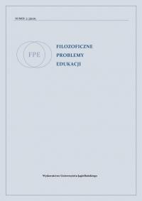 Filozoficzne Problemy Edukacji, 2019/6, Volume 2 (2019)
