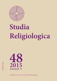 Studia Religiologica, 2015/1, Tom 48, Numer 1