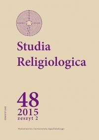 Studia Religiologica, 2015/4, Tom 48, Numer 2