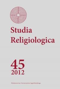 Studia Religiologica, 2013/1, Tom 45, Numer 3