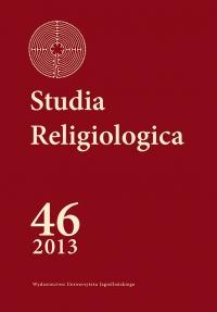 Studia Religiologica, 2013/6, Tom 46, Numer 1
