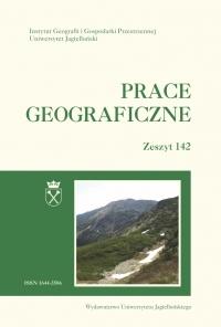 Prace Geograficzne, 2015/11, Zeszyt 142