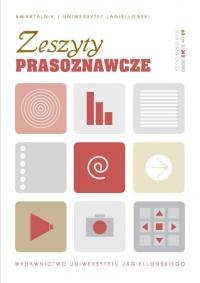 Zeszyty Prasoznawcze, 2020/5, Tom 63, Numer 2 (242)
